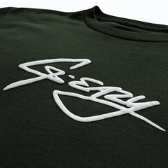 """O.G-Eazy Signature"" TEE (forest green)"