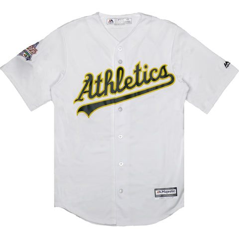 A's White Jersey