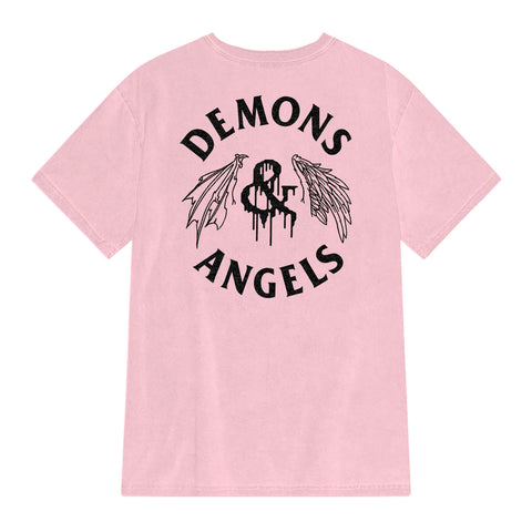 Wing Drips Tee (Pink)