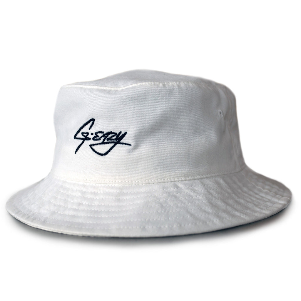 G-Eazy Signature Bucket Hat (White)