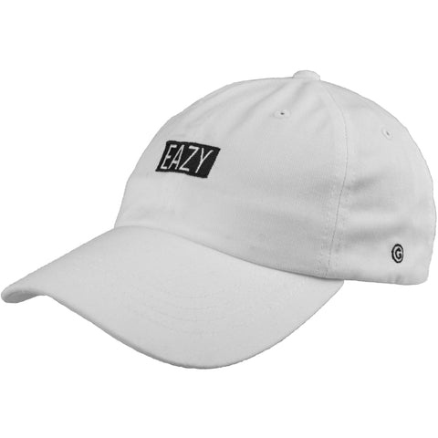 Mini Eazy Box Logo Cap (White)