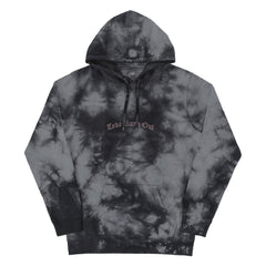 """LOVE RUNS OUT"" HOODIE (charcoal-smoke)"