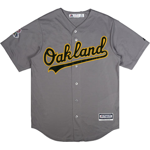 A's Grey Jersey