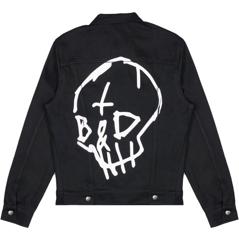 TB&D SKULL DENIM JACKET