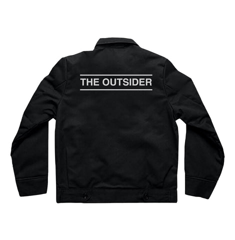 """The Outsider"" Jacket  (black)"