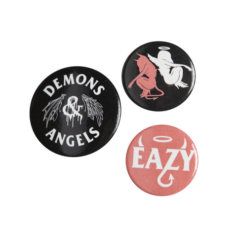 D & A Button Pack