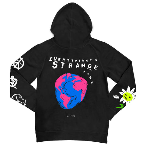 """EVERYTHING STRANGE"" Hoodie (black)"