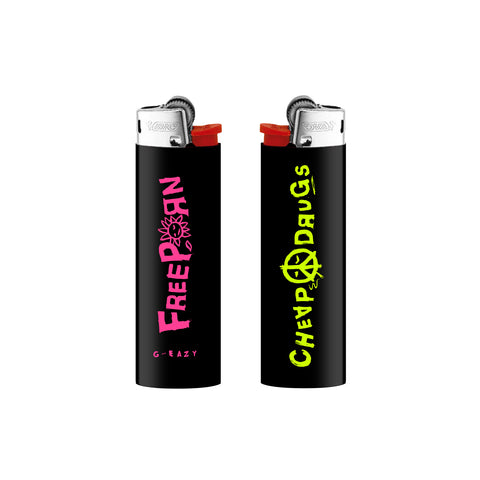 """Cheap Porn"" Lighter (black)"
