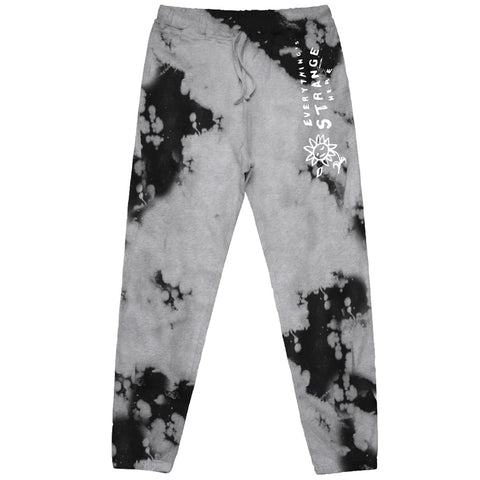 """FALLING PETAL"" SWEATS (heather grey/black)"