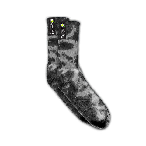 """GREY CLOUDS"" SOCK PAIR (GREY)"
