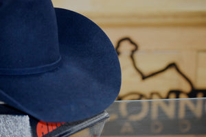 American Hat Co Midnight Blue Felt from Connolly Saddlery