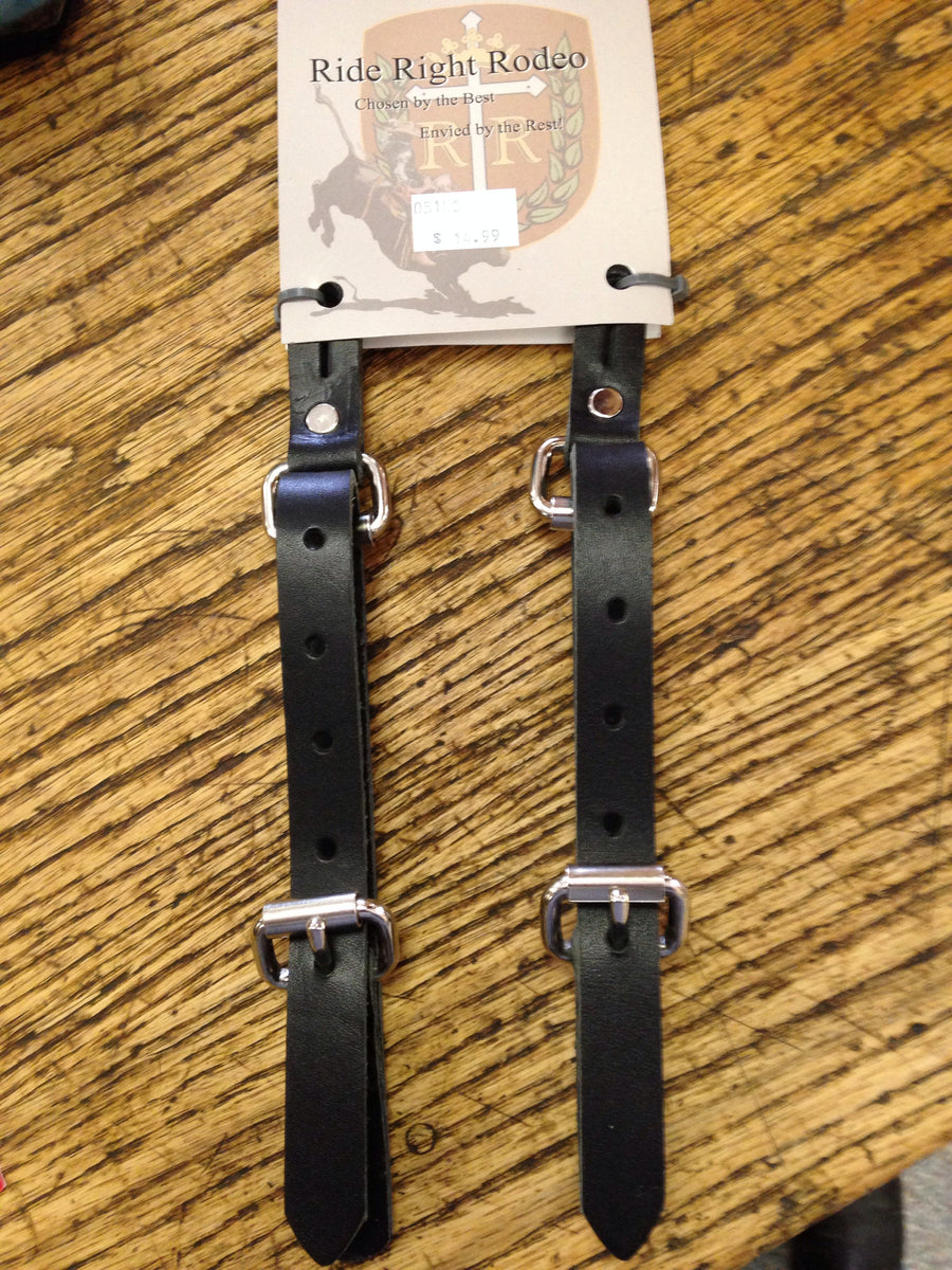 Junior Spur Straps