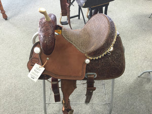 Barrel saddle, Connolly, Saddlery, Herman Oak
