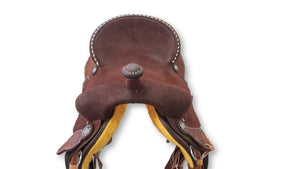 "Connolly's Barrel Saddle - 14 1/2"" - #B2001(2)"