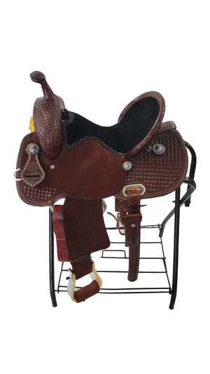 "Connolly's Barrel Saddle - 14"" - #B2003(2)"