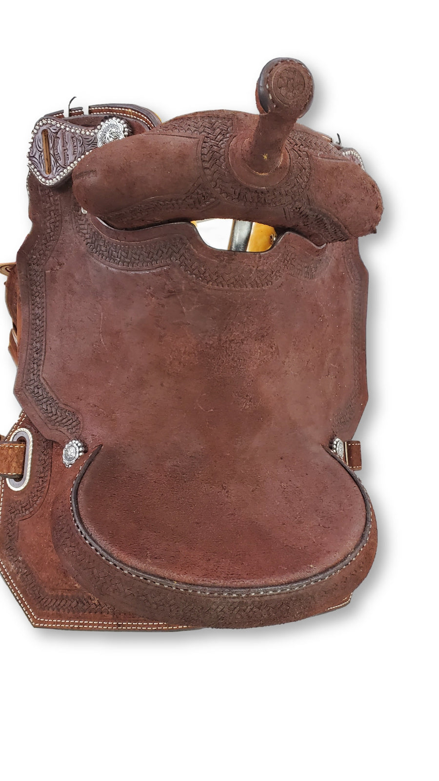 "Connolly's Barrel Saddle - 15"" - #B2003(1)"