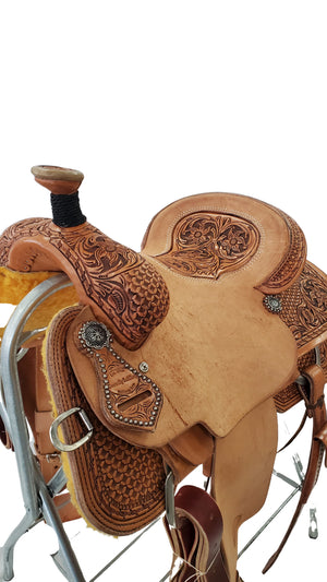 "Connolly's Roping Saddle - 15"" - #R2002(2)"
