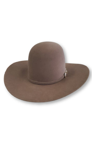 American Hat Co. - 10X Pecan Felt Cowboy Hat - Open Crown