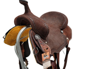 "Connolly's Barrel Saddle - 14"" - #B2009(1)"