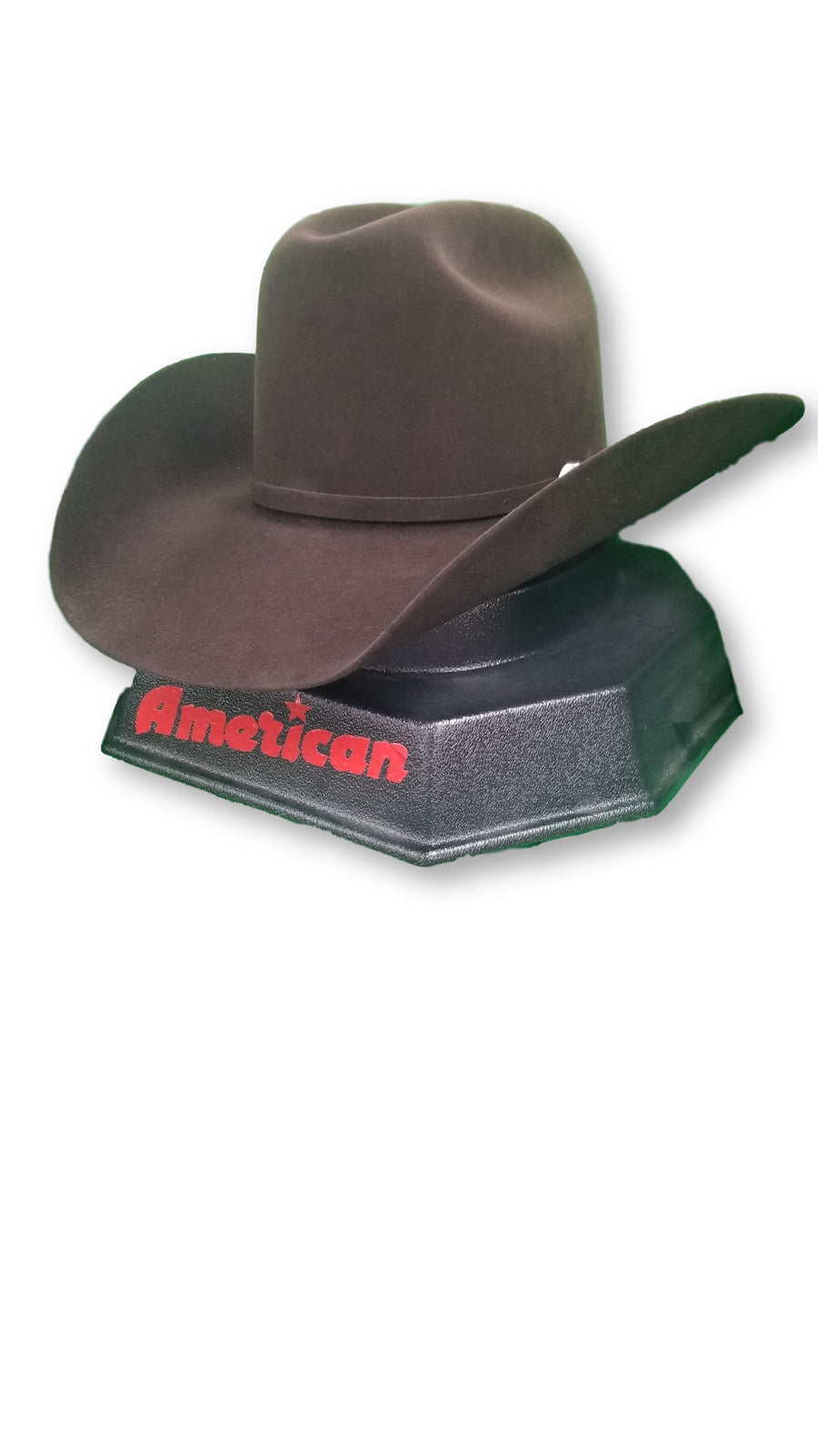 American Hat Co. - 7X Chocolate Felt Cowboy Hat