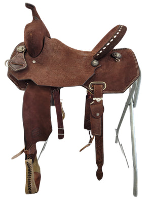 "Connolly's Barrel Saddle - 15"" - #B2012"