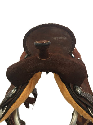 "Connolly's Barrel Saddle - 15"" - #B2008"