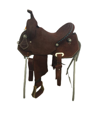 "Connolly's Barrel Saddle - 14"" - #B2008(1)"