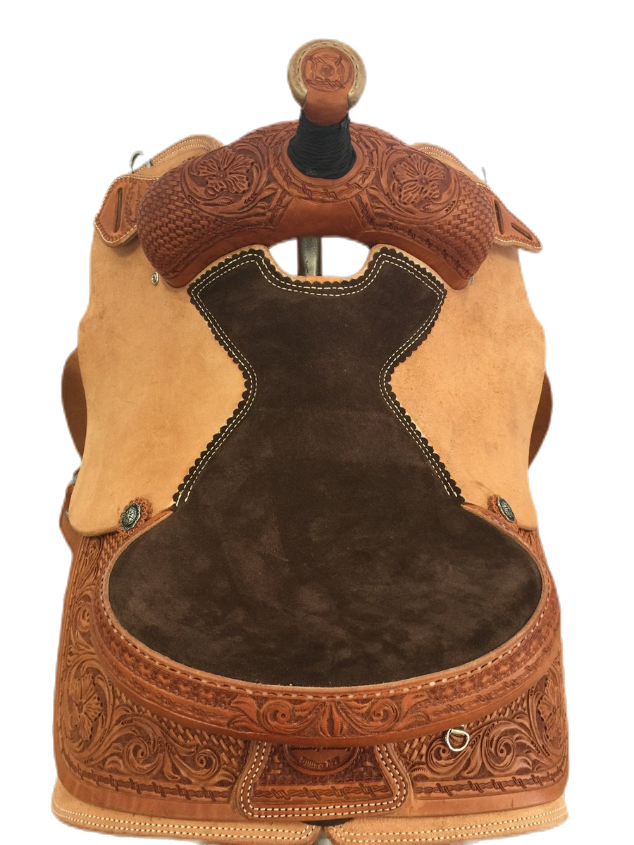 "Connolly's Roping Saddle - 15"" - #R2002(4)"