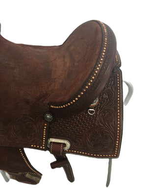 "Connolly's Barrel Saddle - 14"" - #B2008(7)"