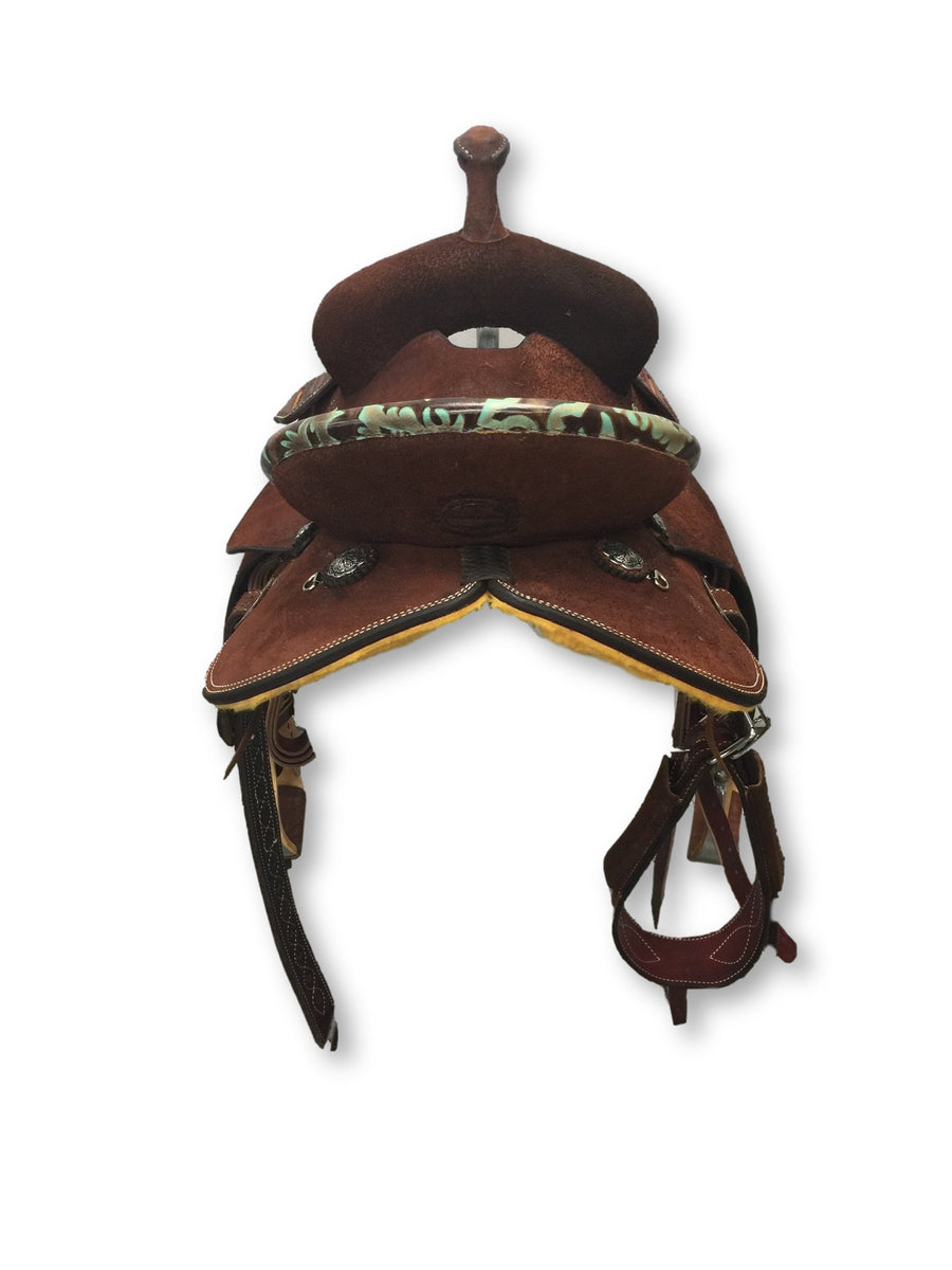 "Connolly's Barrel Saddle - 13"" - #B1908(2)"