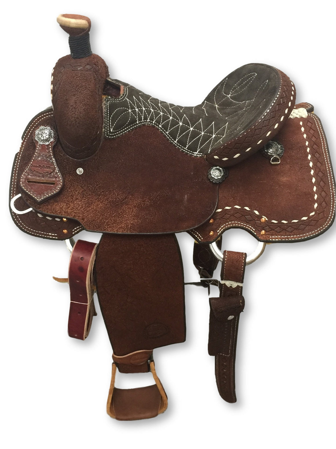 "Connolly's Lite All Around Saddle - 14"" - #AA1908(1)"