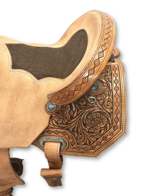 Connolly barrel saddle made for your horse