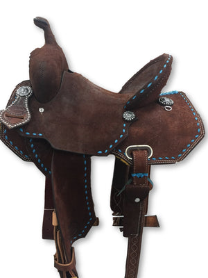 "Connolly's Barrel Saddle - 13 1/2"" - B1912(2)"