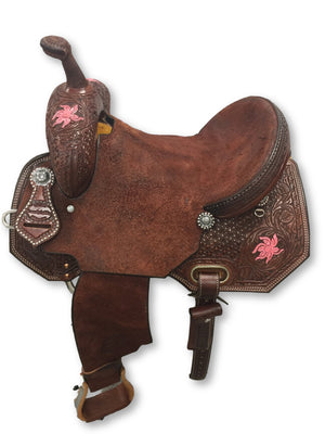 "Connolly's Barrel Saddle - 14"" - #B1903"