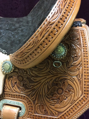 Connolly Barrel Saddle