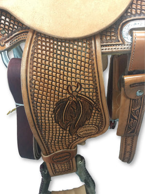 "Connolly's Barrel Saddle - 13 1/2"" - #B1909(1)"