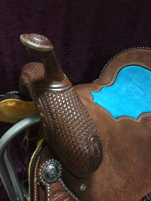 Connolly's Barrel Saddle #B1708