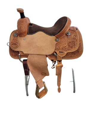 "Connolly's Roping Saddle - 15"" - #R2104(1)"
