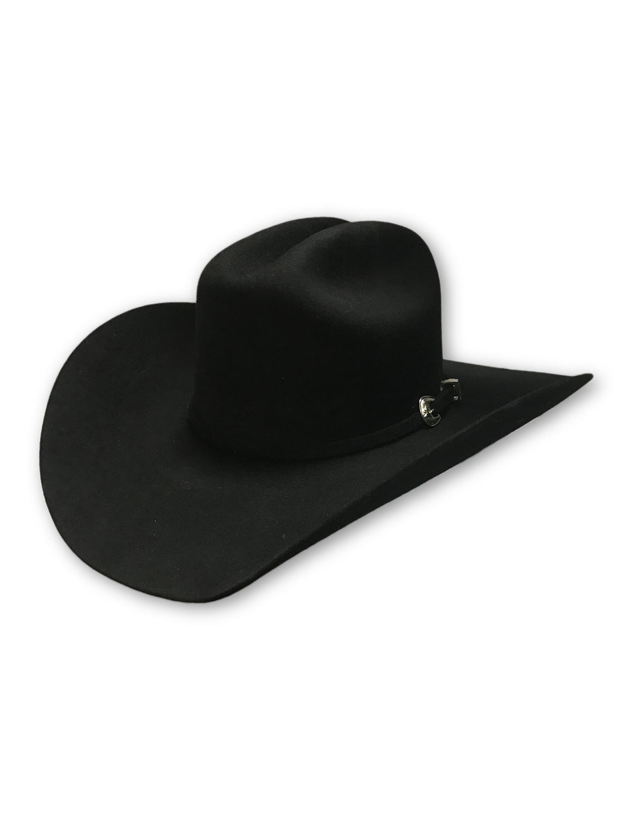 Justin 3X Rodeo Felt Hat - Black