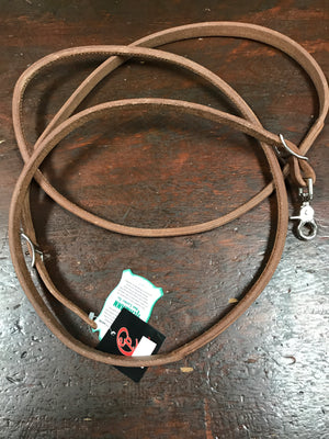 Reins Roping Round Harness Leather
