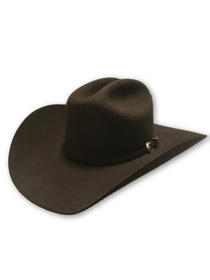 Justin 3X Felt Hat - Brown