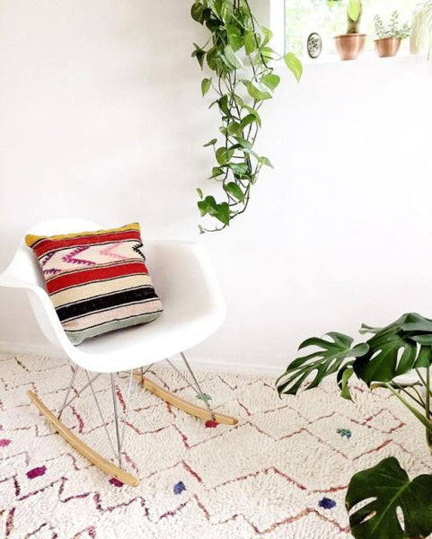 Striped Arrows Kilim Pillow