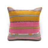 Bohemian Modern One of a kind Turkish Kilim Pillow
