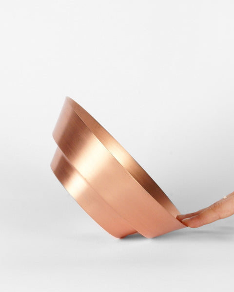 Copper Spun Bowl - Hesby