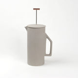 Minimalist Ceramic French Press