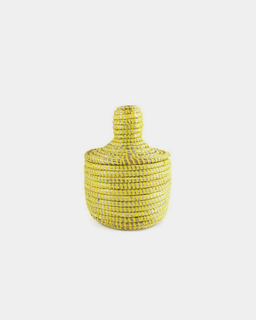 Yellow Mini Basket - Hesby
