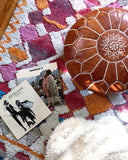 Boho Chic Moroccan Pouf from Hesby
