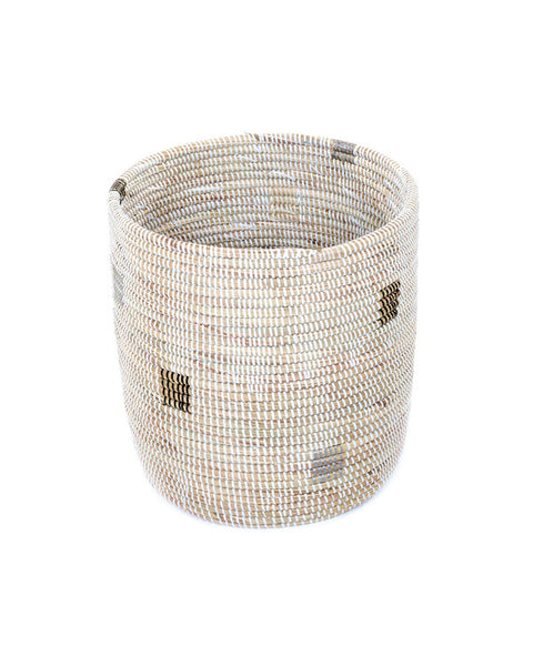 Boho Handmade Storage Pixel Basket from shophesby.com