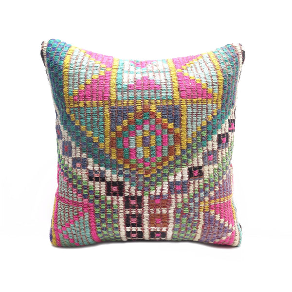 Kaleidoscope Kilim Pillow