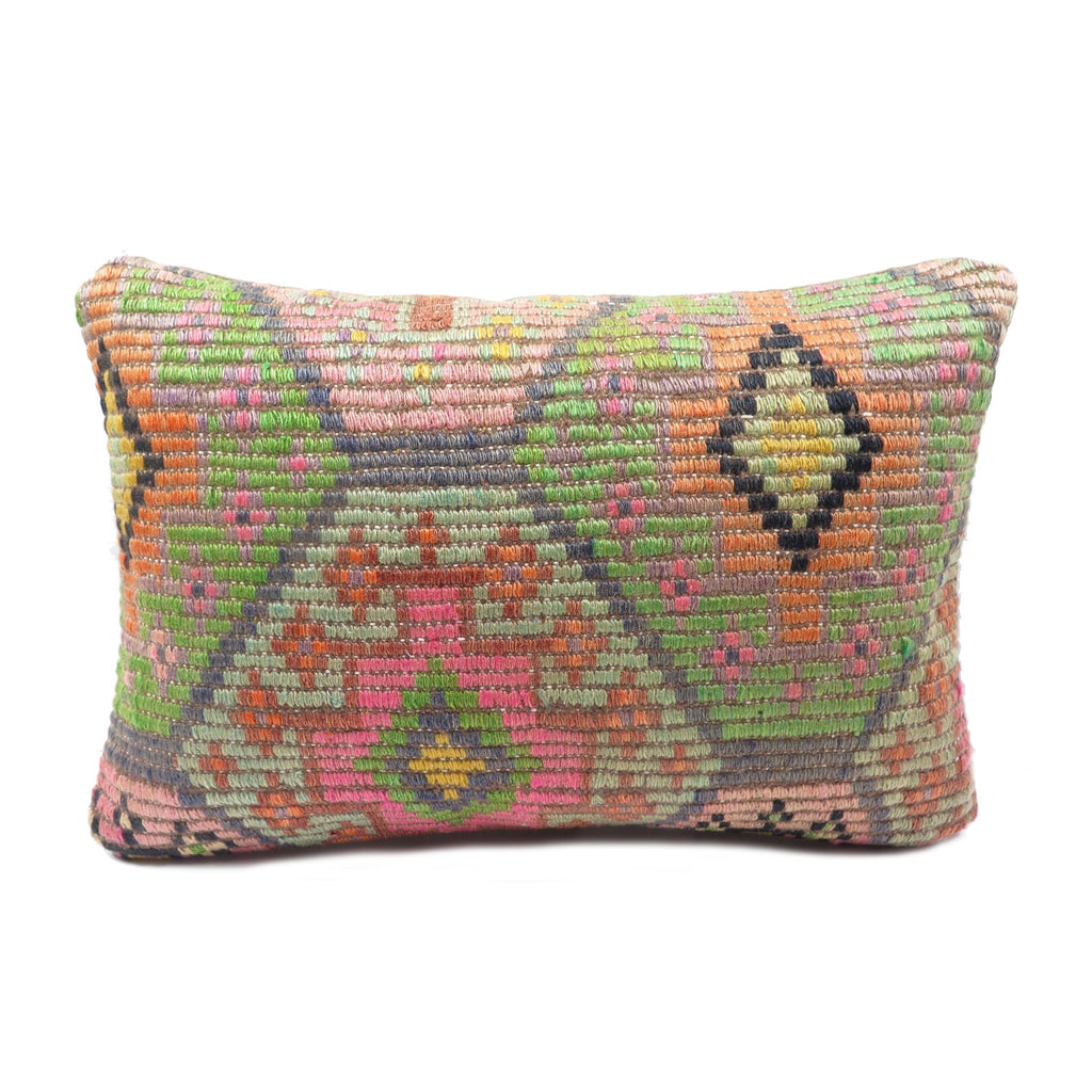 Rocket Man Vintage Kilim Lumbar Pillow
